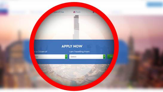 Apply dubai application form